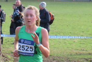 Libby Coleman impressed for the Harriers.