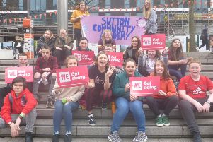 Sutton Community Academy attended WE Day at SSE Arena, Wembley.