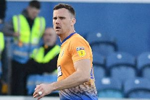 Picture Andrew Roe/AHPIX LTD, Football, EFL Sky Bet League Two, Mansfield Town v Forest Green Rovers, One Call Stadium, 23/02/2019, K.O 3pm''Mansfield's Ben Turner''Andrew Roe>>>>>>>07826527594