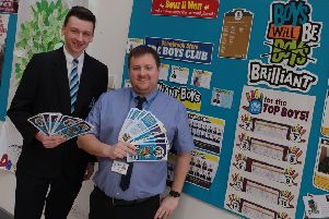 Shirebrook school installs boys-only wall-of-fame to encourage male students