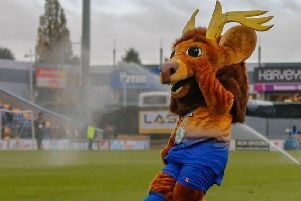 Mansfield Town on TV again as Sammy the Stag dances on The One Show