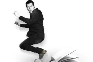 See top stand-up Rhod Gilbert at Nottingham's Royal Concert Hall