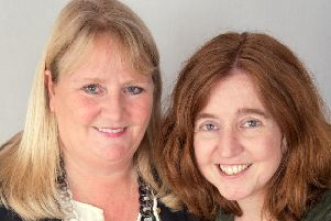Sarah Murden (left) with her co-author, Joanne Major.