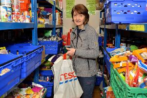 The Stables Centre, Mansfield Woodhouse, pictured is volunteer Sylvie Rodgers