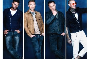 Boyzone will play Nottingham's Motorpoint Arena in October.