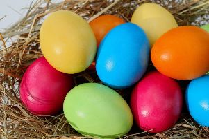 Egg hunting is one of the best things about Easter when you're little