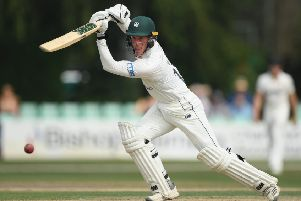 Luke Wood, whose knock of 83 provided the backbone of Cuckney's innings. (PHOTO BY: Stu Forster/Getty Images)