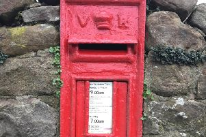 A wall-mounted post box from the reign of Queen Victoria that was almost certainly produced in Mansfield.