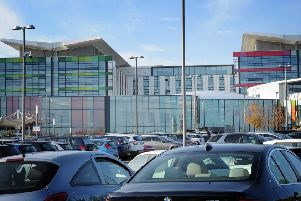 Kings Mill Hospital and car parking.
