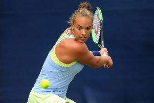 'The Nottingham Open is special to me,' says Hucknall tennis ace Freya Christie