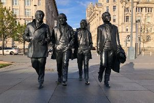 The Beatles Statue in Liverpool - just one of many cities in Britain proving to be a hit with tourists from around the world.