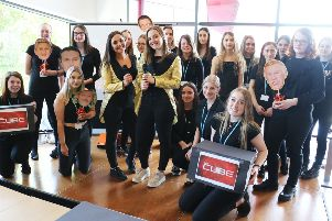 Travel and tourism students at West Nottinghamshire College organised an end-of-year show based on popular TV quizzes.