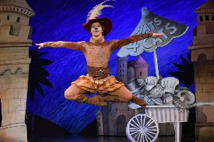 Northern Ballet's Puss in Boots. Photo by Brian Slater.