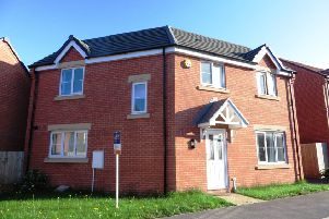 The property is on Manor House Court in Chesterfield