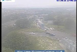 Junction 28 southbound of M1