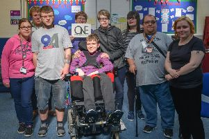 One conversation, a disability support group who meet once a week to discuss how they can change people's perceptions, will be taking part in the walk