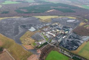 An aerial shot of Thoresby Colliery.