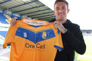 Mansfield Town supporters excited about new signing Andy Cook