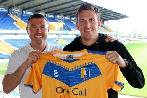 Hotshot Andy Cook chose Mansfield Town as they share his promotion dream