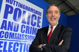 Paddy Tipping, Nottinghamshire Police and Crime Commissioner.