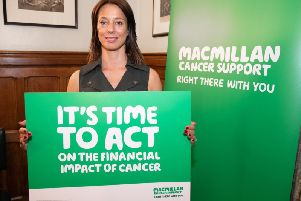 Ashfield MP Gloria De Piero is backing Macmillan's campaign