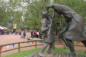 Sherwood Forest is one of Nottinghamshire's biggest tourist attractions