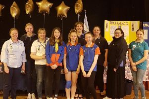 1st Skegby Guides first Baden-Powell Challenge Awards have been presented to Jess Ross, Lucy Peake and Piper Owen.