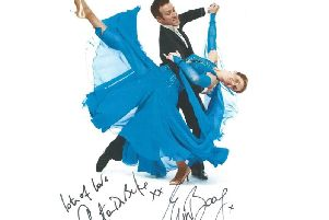 Best wishes from Anton Du Beke and Erin Boag