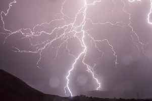 Thunderstorms are expected to hit Nottinghamshire tomorrow afternoon.