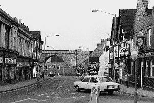 Mansfield then and now.
