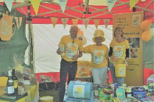 Members of the Marie Curie Chorley Fundraising Group