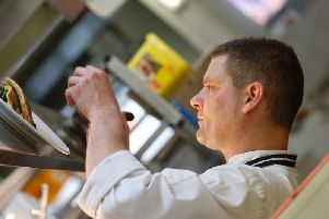 Head Chef Jamie Kennard from Brookes Restaurant at the Park Hall Hotel (Image: Park Hall / Lavender Hotels)