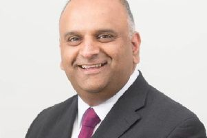 Labour opposition leader on Lancashire County Council, Azhar Ali