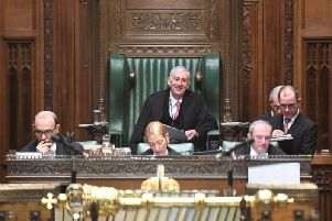 New Speaker of the House of Commons, Sir Lindsay Hoyle's first day in the Chair.