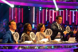 Judges panel Craig Revel Horwood, Motsi Mabuse, Bruno Tonioli and Shirley Ballas