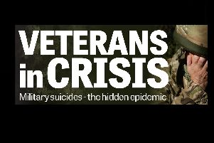 The Veterans In Crisis logo (Picture: JPIMedia)