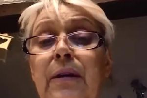 Cancer patient Jayne Rae, 53, sent a video to Labour leader Jeremy Corbyn in which she compared Chorley Hospital to Beirut. Pic: @jeremycorbyn
