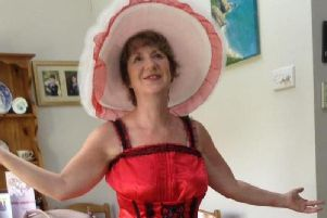 Linda Green, of Croston, after she joined WeightWatchers