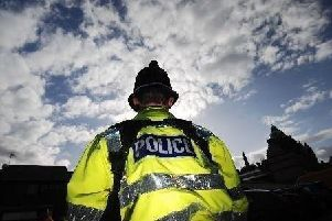 A man was arrested in Chorley after shouting that he had a bomb in his car.