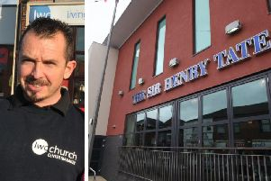 Doorman Barry Graham saves life of homeless man outside the Sir Henry Tate Wetherspoon pub in Chorley (Images: JPIMedia)