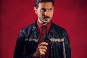 Comedian Ignacio Lopez appearing at Blackpool Comedy Station this weekend