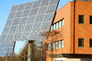 The solar tracker at UCLan