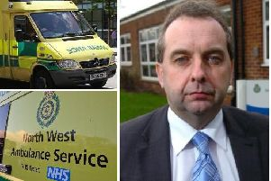 Derek Cartwright is 'retiring' from his role, the ambulance service has confirmed