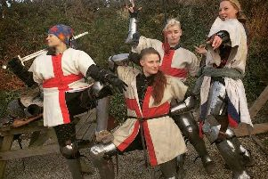Britains female medieval warriors