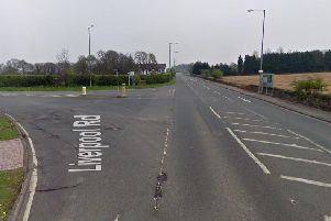 The junction where the crash happened (Picture: Google)