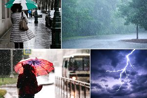 The warm weather of late has triggered heavy rain and thunderstorms across the UK