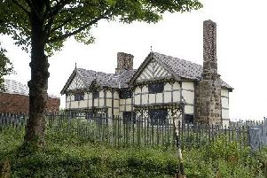 A 17th-century hall in Buckshaw in a state of disrepair is to go under the hammer at an auction.