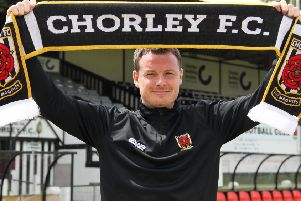 Jamie Vermiglio was appointed Chorley manager during the summer