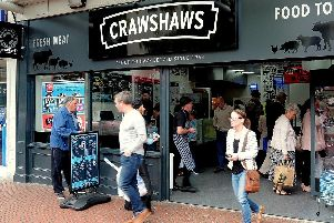 Crawshaws has stores across the North West