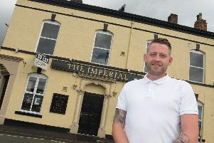 Jonjo Kerr took over the running of the Imperial pub in Chorley